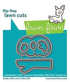 Lawn Fawn - One in a Chameleon Flip-flop, Stanssisetti