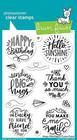 Lawn Fawn - Magic Messages, Leimasetti