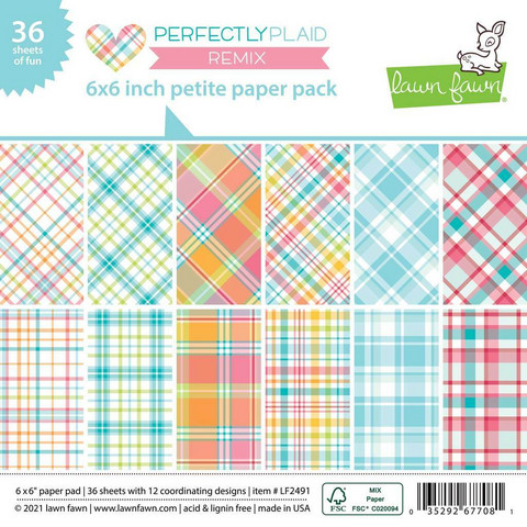 Lawn Fawn - Perfectly Plaid Remix Petite 6