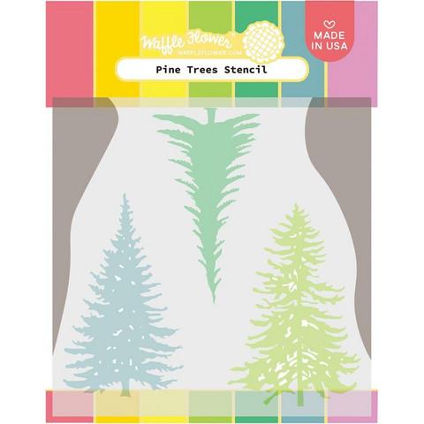 Waffle Flower - Pine Trees, Sapluuna