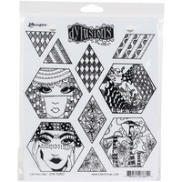 Dyan Reaveley's Dylusions - Cling Stamp Collections, Quiltalicious