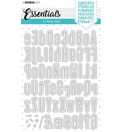 Studio Light - Cutting Die Alphabet Tall Essentials nr.390, Stanssisetti