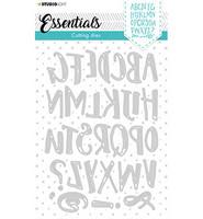 Studio Light - Cutting Die Alphabet Mixed Media Essentials nr.391, Stanssisetti