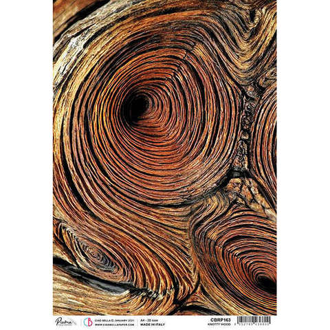 Ciao Bella - Delta, Rice Paper A4, Knotty Wood