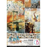 Ciao Bella - Blue Note, Korttikuva-arkit, 9 arkkia