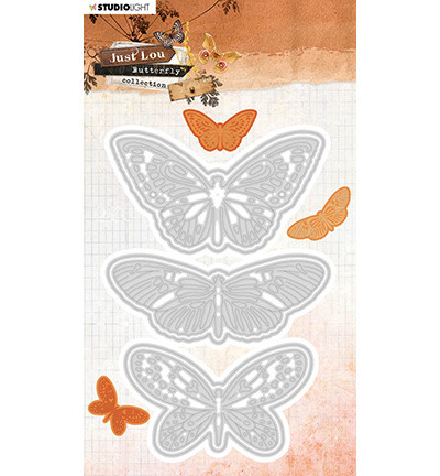 Studio Light - Just Lou Butterfly Collection nr.18, Stanssisetti
