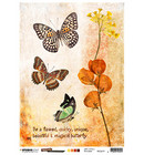 Studio Light - Just Lou Butterfly Collection nr.19, Rice Paper