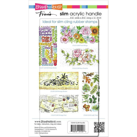 Stampendous - Perfectly Clear Stamp Block, Akryylilevy