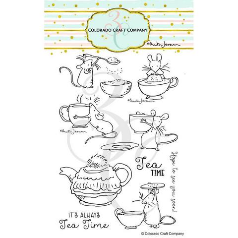 Colorado Craft Company - Tea Time Fun-By Anita Jeram, Leimasetti