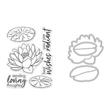 Hero Arts - Hero Florals Lotus, Leima- ja stanssisetti