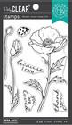 Hero Arts - Hero Florals Poppy, Leimasetti