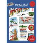 Carta Bella - Our Travel Adventure, Sticker Book, Tarrasetti