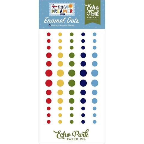 Echo Park - Little Dreamer Boy, Enamel Dots, 60 kpl