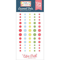 Echo Park - Little Dreamer Girl, Enamel Dots, 60 kpl