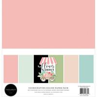 Carta Bella - Flower Garden, Solids Kit 12