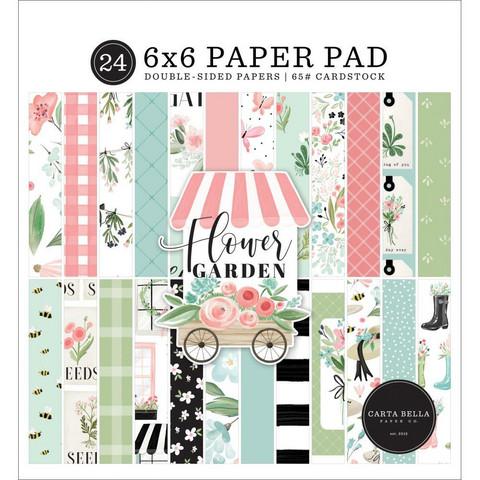 Carta Bella - Flower Garden, Double-Sided Paper Pad 6
