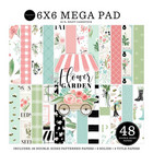Carta Bella - Flower Garden, Double-Sided Mega Paper Pad 6