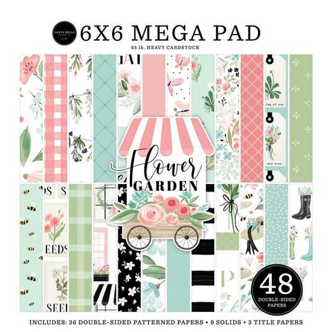 Carta Bella - Flower Garden, Double-Sided Mega Paper Pad 6