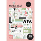 Carta Bella - Flower Garden, Sticker Book, Tarrasetti