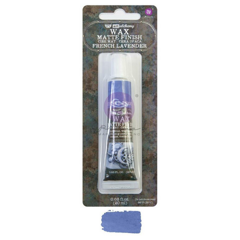 Prima Marketing - Finnabair Art Alchemy Matte Wax, French Lavender