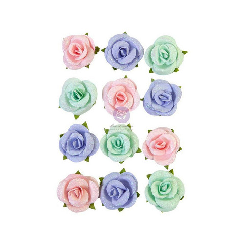 Prima Marketing - Watercolor Floral, Mulberry Flowers, Sweet