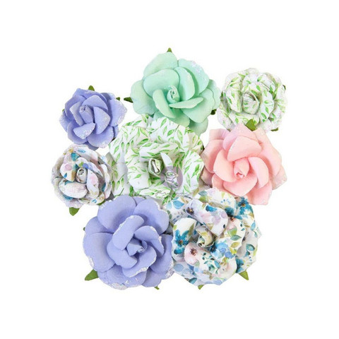 Prima Marketing - Watercolor Floral, Mulberry Flowers, Rose Gouache