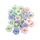 Prima Marketing - Watercolor Floral, Mulberry Flowers, Tiny Colors