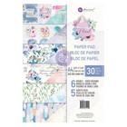 Prima Marketing - Watercolor Floral, Paperikko, A4, 30 sivua (Huom! Kulma taittunut)