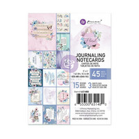 Prima Marketing - Watercolor Floral, Journaling Notecards, 3