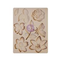 Prima Marketing -  Watercolor Floral, Decor Moulds, Silikonimuotti