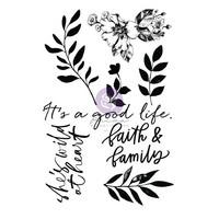 Prima Marketing - Watercolor Floral, Leimasetti