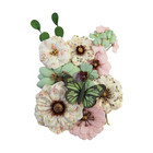 Prima Marketing - My Sweet By Frank Garcia, Mulberry Flowers, Sewn With Love