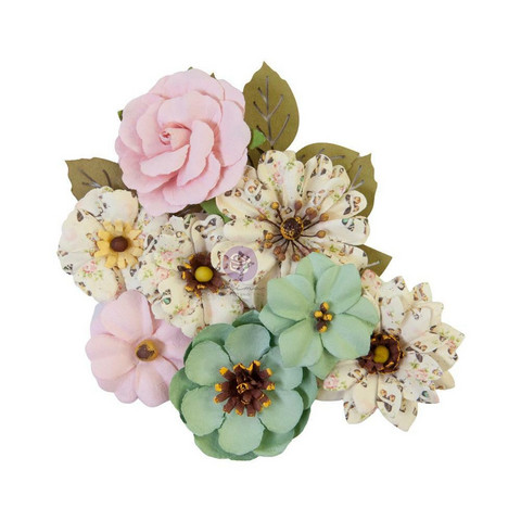 Prima Marketing - My Sweet By Frank Garcia, Mulberry Flowers, Sewn Together