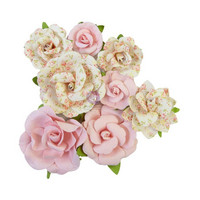 Prima Marketing - My Sweet By Frank Garcia, Mulberry Flowers, Friends Always
