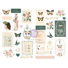 Prima Marketing - My Sweet By Frank Garcia Chipboard Stickers, 31 osaa