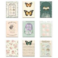 Prima Marketing - My Sweet By Frank Garcia Wood Stickers, 9 osaa