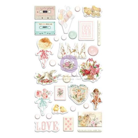 Prima Marketing - Magic Love By Frank Garcia Puffy Stickers, 32osaa