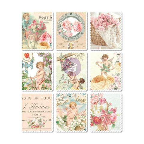 Prima Marketing - Magic Love By Frank Garcia Wood Stickers, 9 osaa
