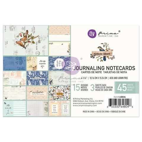 Prima Marketing - Nature Lover, Journaling Notecards, 4