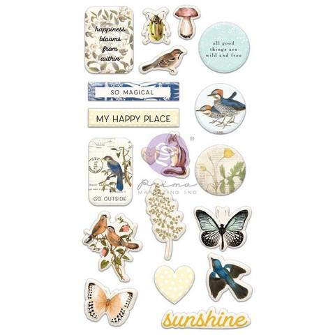 Prima Marketing - Nature Lover, Puffy Stickers, 19osaa