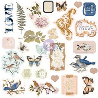 Prima Marketing - Nature Lover, Cardstock Ephemera, 27 osaa