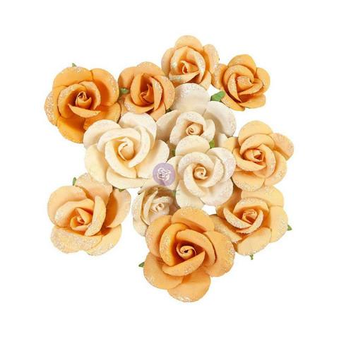 Prima Marketing - Diamond, Mulberry Flowers, Rising Fire