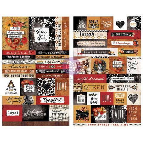 Prima Marketing - Diamond, Stickers, 2 arkkia