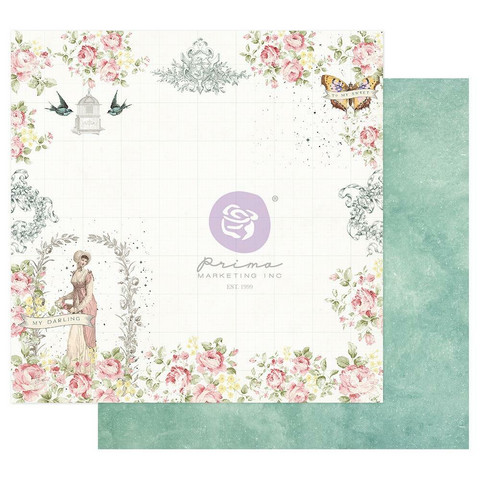 Prima Marketing - My Sweet By Frank, Double-Sided Cardstock 12
