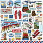 Carta Bella - Our Travel Adventure Element Sticker 12