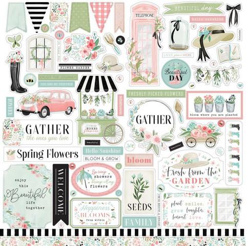 Carta Bella - Flower Garden Element Sticker 12
