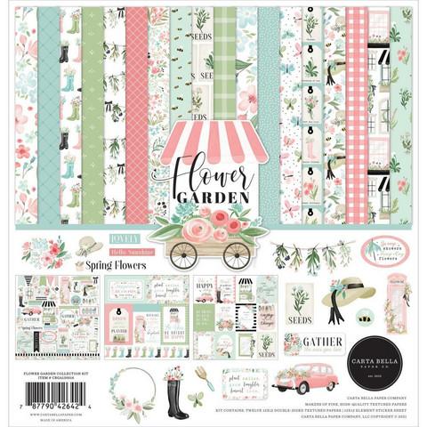 Carta Bella - Flower Garden, Collection Kit 12