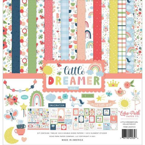 Echo Park - Little Dreamer Girl, Collection Kit 12