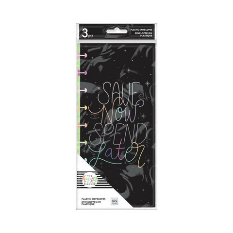 MAMBI - Happy Planner, Save Now- Budget, Plastic Envelopes