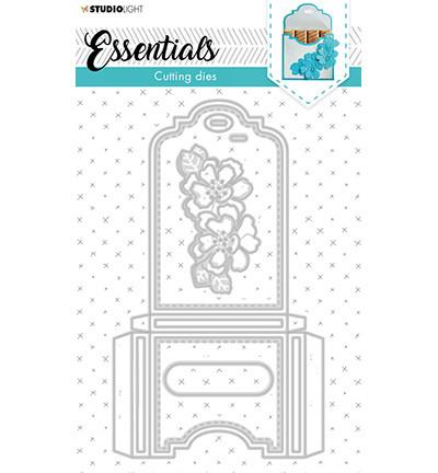Studio Light - Cutting Die Die Giftbox Merci Small Essentials nr.392, Stanssisetti